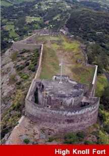 High Knoll Fort Saint Helena Island Info Seven Wonders of St Helena