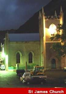 St. James' Church Saint Helena Island Info Seven Wonders of St Helena