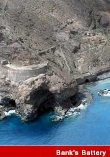 Banks' Battery Saint Helena Island Info Seven Wonders of St Helena