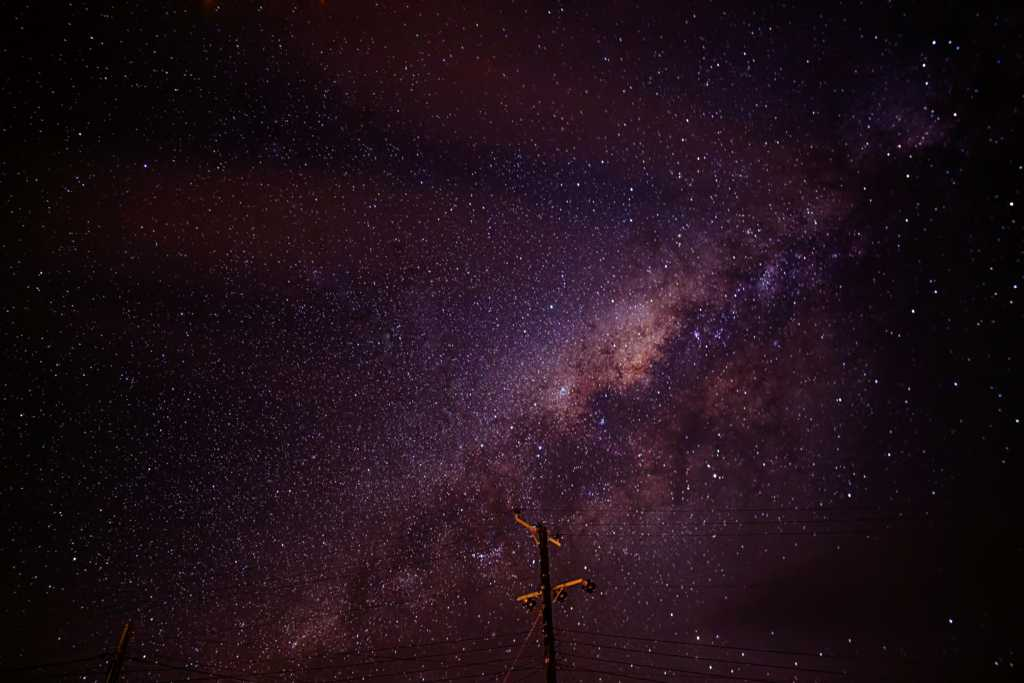 Milky Way from St Helena