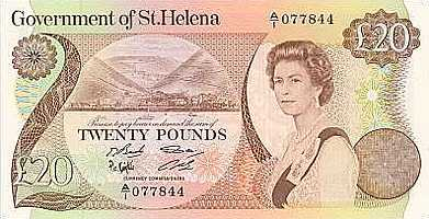 Old £20 [Saint Helena Island Info:Notes and Coins of St Helena]