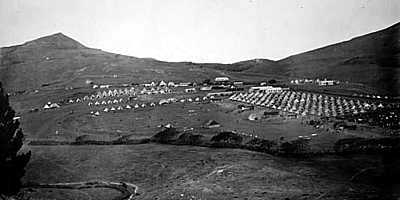 Boer Camp on Deadwood Plain Saint Helena Island Info Boer Prisoners