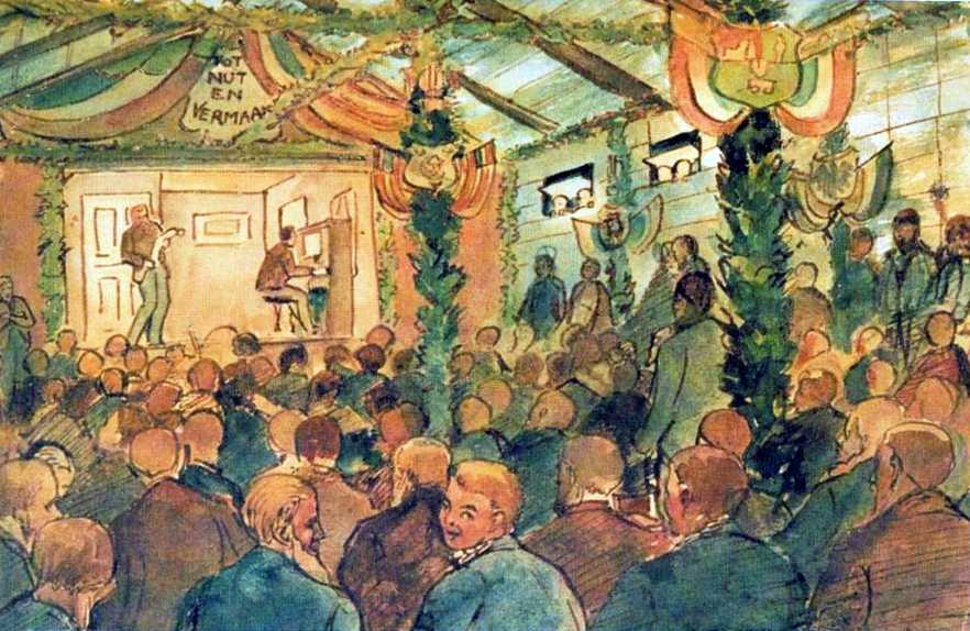 Boer PoWs (1900-1902) entertainment by Erich Mayer