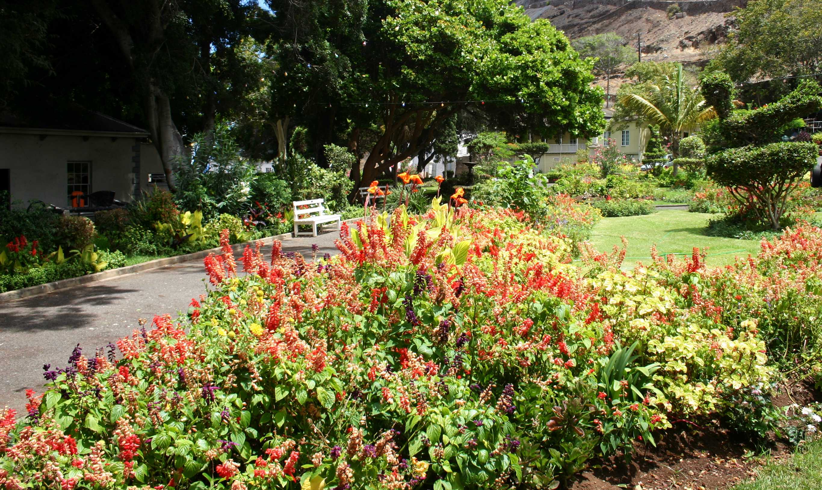 Castle Gardens Saint Helena Island Info