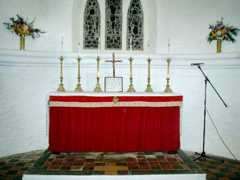 Altar Saint Helena Island Info Churches of St Helena