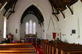 Interior Saint Helena Island Info Churches of St Helena