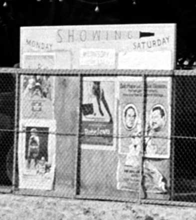 Paramount Cinema board, 1970s