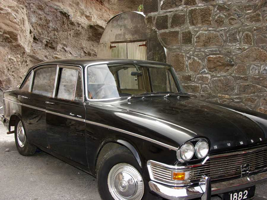 Former Governor's car in the Museum of St Helena Saint Helena Island Info Classic Cars