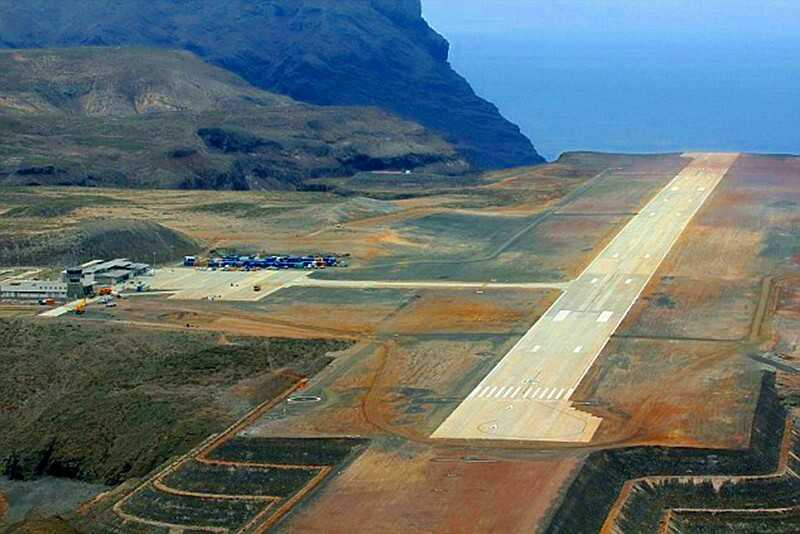 The airport was to be opened by Prince Edward last month but the start of commercial flights has been delayed after trials with a Boeing 737-800 revealed a problem with turbulence and windshear on the runway approach Saint Helena Island Info Read articles about St Helena