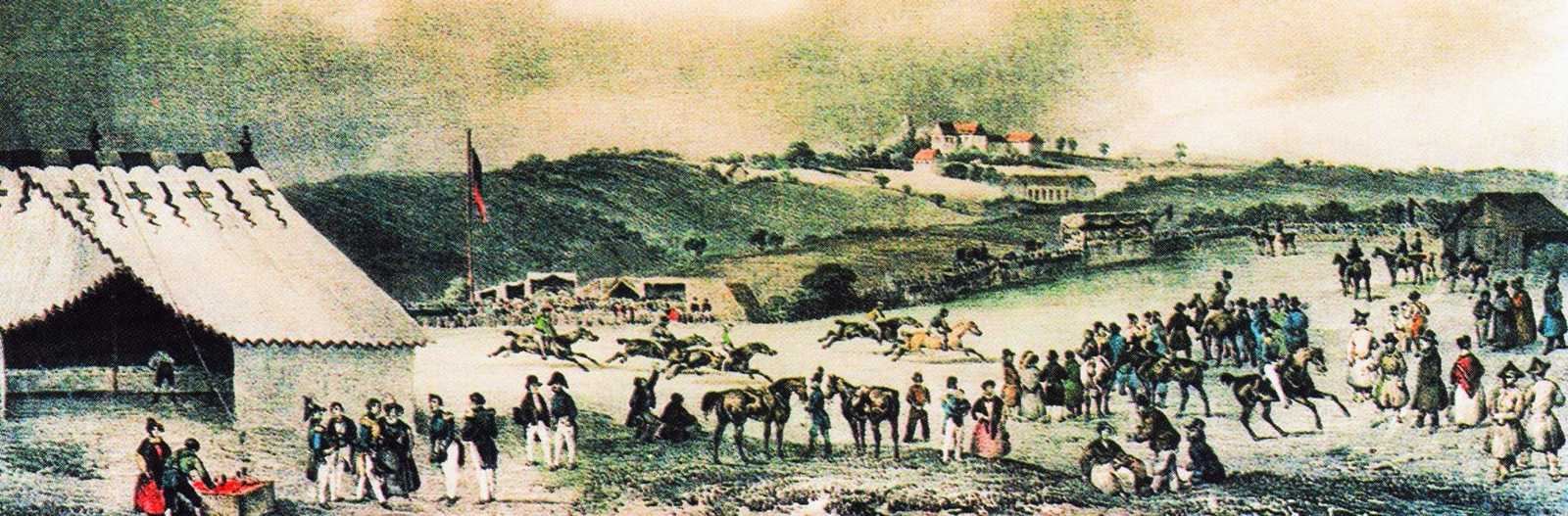 Horse racing on Deadwood Plain, 1821 {3}