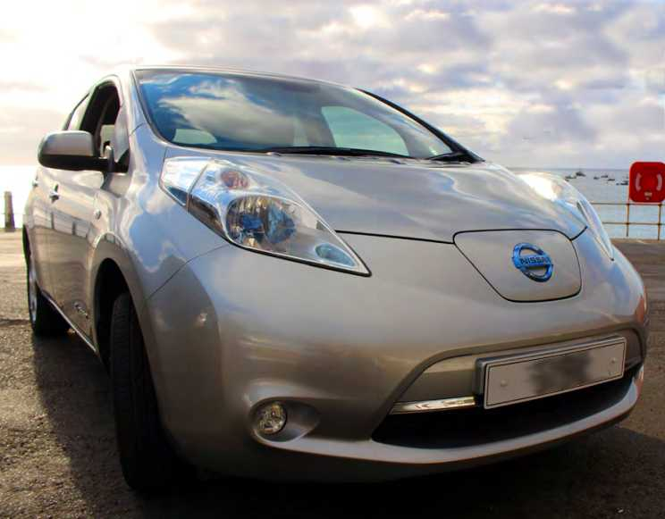 Meet the Island's First Electric Car