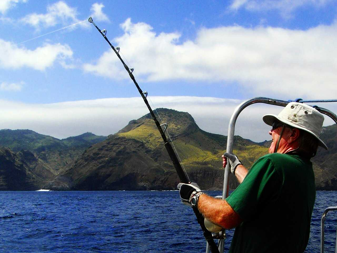 Saint helena island info all about st helena in the for Into the blue fishing