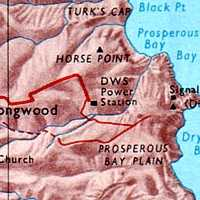 Extract from 1970s map