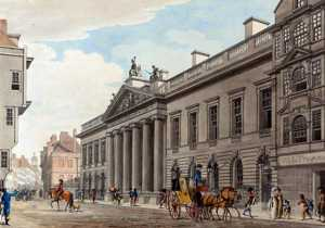 East India House, London, c.1800