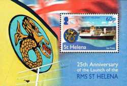 First Day Cover: 25th Anniversary of the RMS