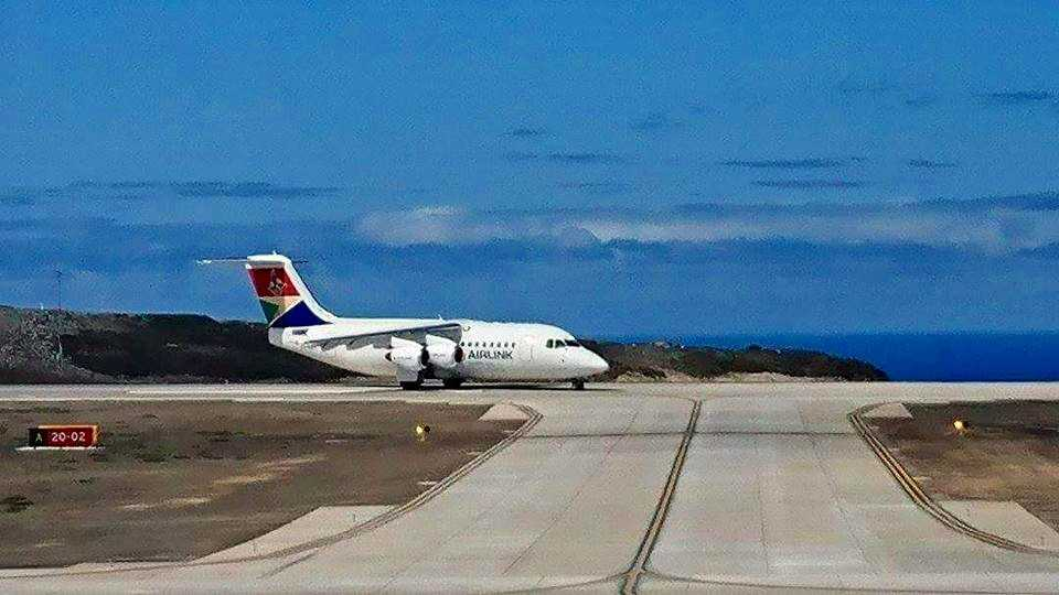 flights to st helena island
