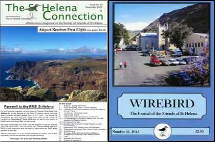 Friends of St Helena Magazines