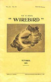Wirebird cover October 1960