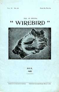Wirebird cover July 1959