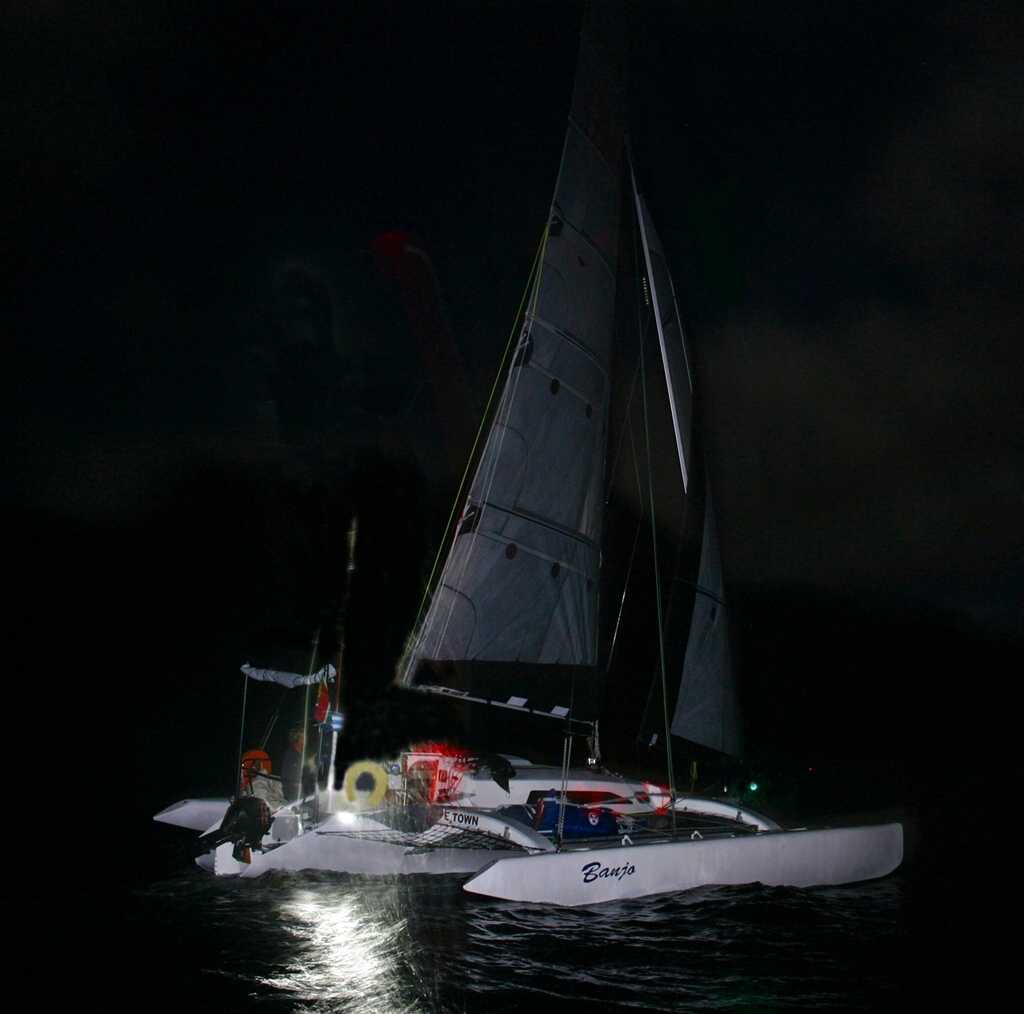 'Banjo', 2am 6th January 2014, just off St Helena [Saint Helena Island Info:The Governor's Cup]