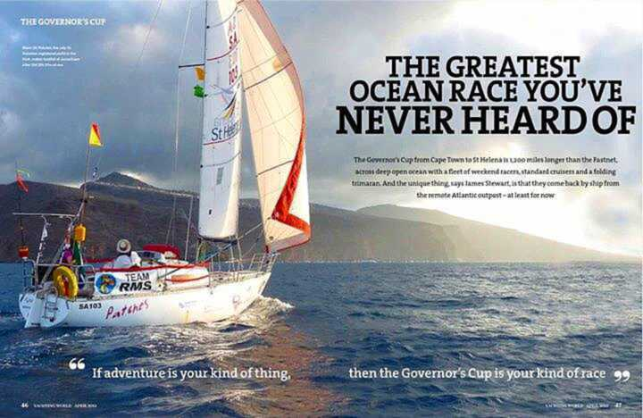 Poster promoting the race [Saint Helena Island Info:The Governor's Cup]