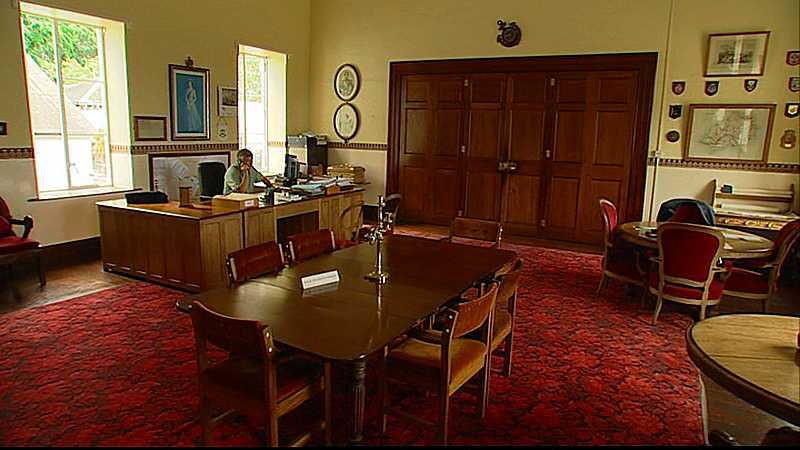 The Governor's Office in The Castle Saint Helena Island Info Governor of St Helena