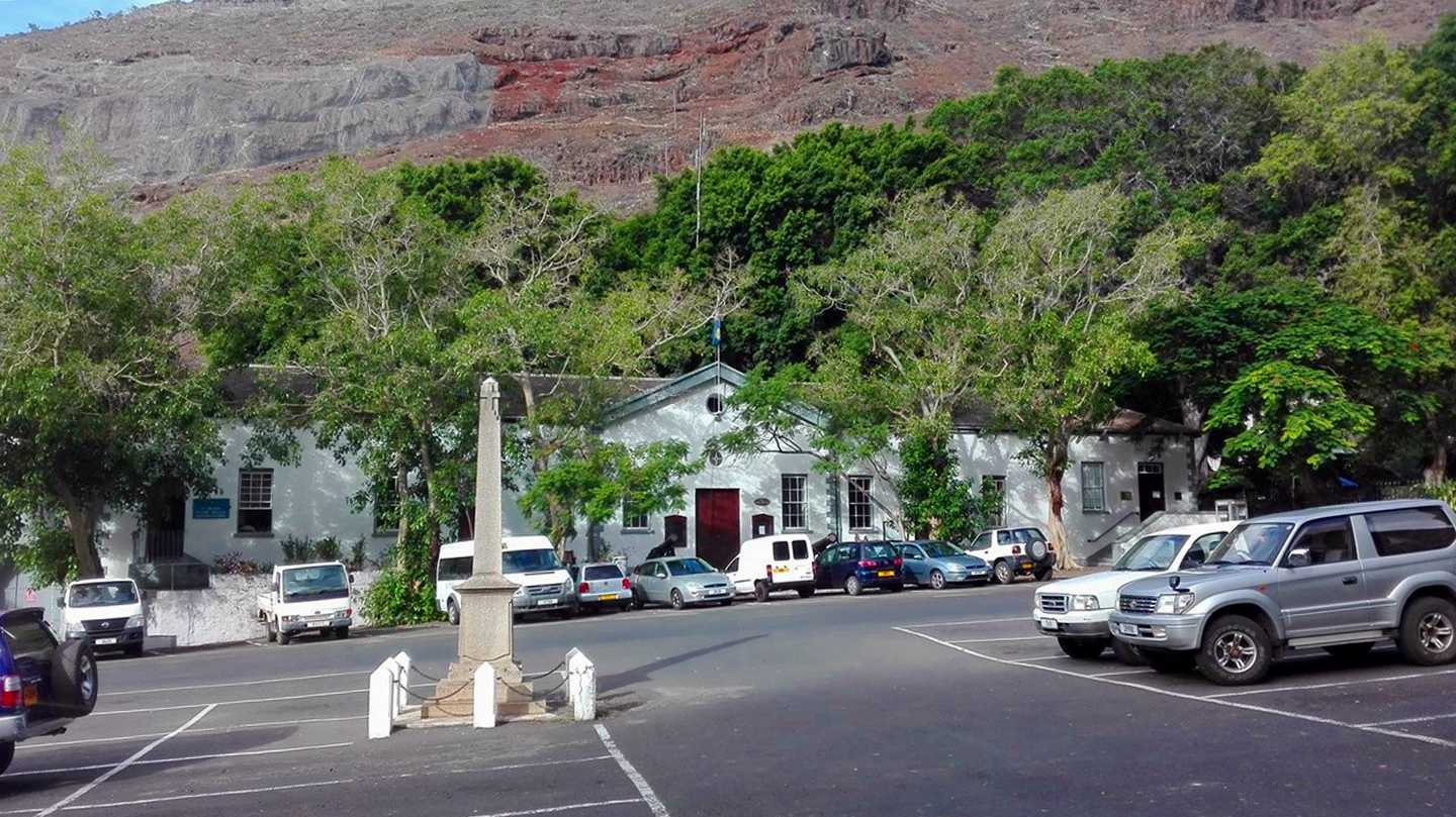 Grand Parade Saint Helena Island Info Jamestown