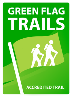 Green Flag Trails logo