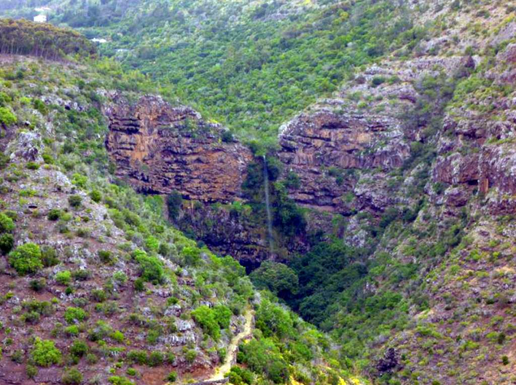 The Heart Shaped Waterfall Saint Helena Island Info Seven Wonders of St Helena