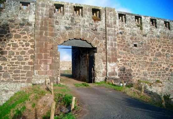 Entrace in 2015 [Saint Helena Island Info:High Knoll Fort]
