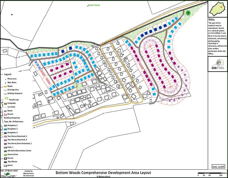 Bottom Woods housing plan [Saint Helena Island Info:Houses]