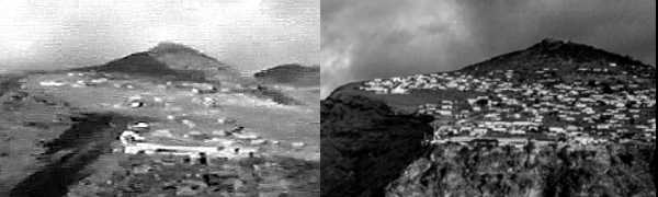 Half Tree Hollow in 1984 and 2014 Saint Helena Island Info