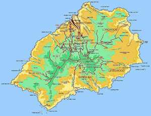 Our island's name • What, exactly, is it? Saint Helena Island Info Island Detail