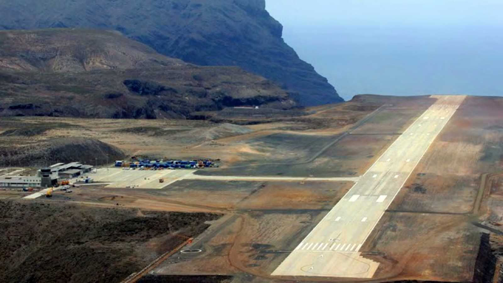 St Helena Airport was built with £285 million of funding from the Department for International Development Saint Helena Island Info Fly here