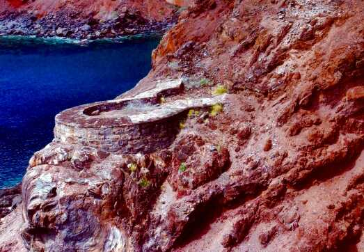 Half Moon Battery Lemon Valley Saint Helena Island Info Forts and Batteries