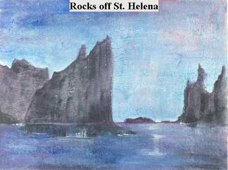 Iris Linsi Coastal Rocks Saint Helena Island Info Artists