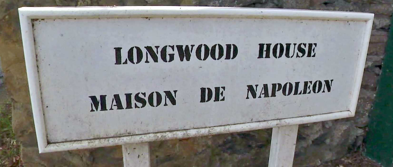 Longwood House sign