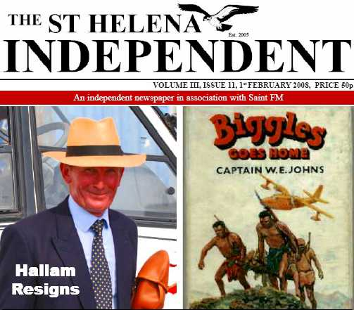 Independent in 2008 Saint Helena Island Info Nicknames