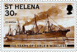 ETC Cable-laying ship Saint Helena Island Info Communications