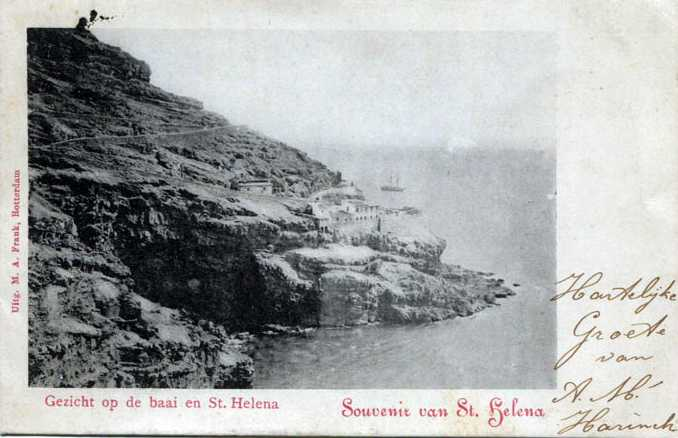 Mundens from Rupert's prob. late 19th C in Dutch Saint Helena Island Info Postcards of St Helena