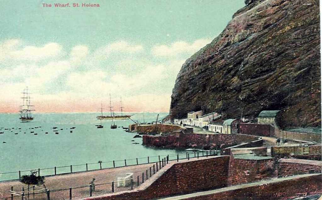 Postcards of St Helena Saint Helena Island Info