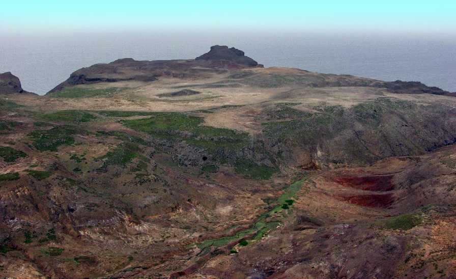 Prosperous Bay Plain before airport construction, 2007 [Saint Helena Island Info:Building St Helena Airport]