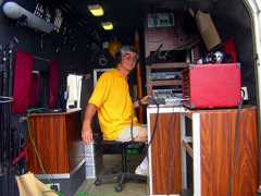 Tony Moore at the controls in 2009 {7}