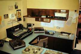 The studio after the 1976 upgrade