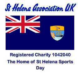Logo of the St Helena Association (UK) [Saint Helena Island Info:Reading Sports]