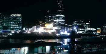 RMS in London: nighttime
