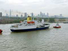 RMS in London: lower Thames
