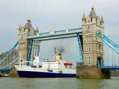 RMS in London: at Tower Bridge