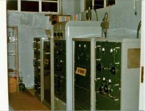 The original Mk214 transmitters, c.1976