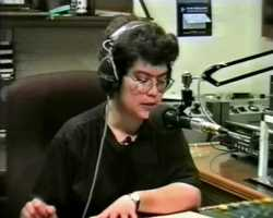 1995: Joy Lawrence, reading the news